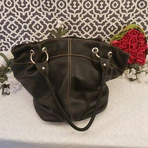 Black tiganello boho bag
